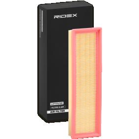 Kupte a vyměňte Vzduchový filtr RIDEX 8A0285