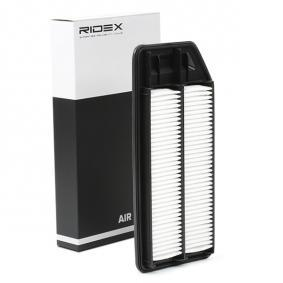 ostke ja asendage Õhufilter RIDEX 8A0201