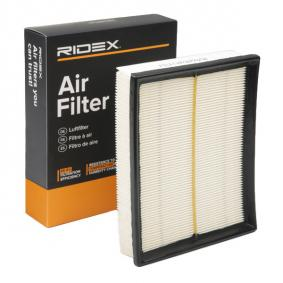 Koop en vervang Luchtfilter RIDEX 8A0189