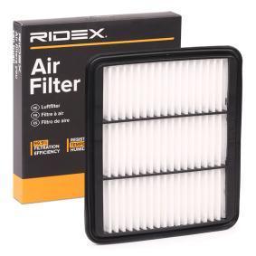 koop RIDEX Luchtfilter 8A0226 op elk moment