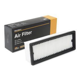 Kupte a vyměňte Vzduchový filtr RIDEX 8A0287
