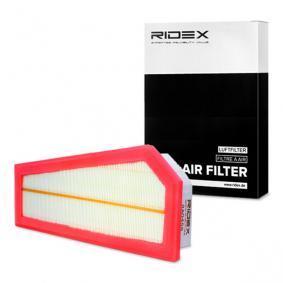 Filtro aria RIDEX 8A0458 comprare e sostituisci