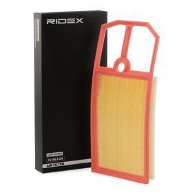 Pērc un aizvieto Gaisa filtrs RIDEX 8A0241