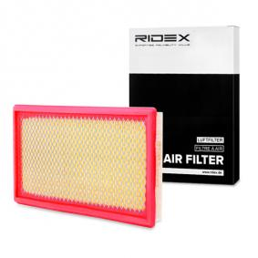 buy and replace Air Filter RIDEX 8A0402