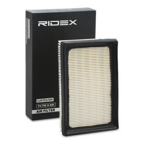 Kupte a vyměňte Vzduchový filtr RIDEX 8A0462