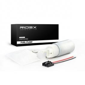 köp RIDEX Bränslepump 458F0009 när du vill