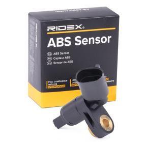 köp RIDEX Sensor, hjulvarvtal 412W0002 när du vill