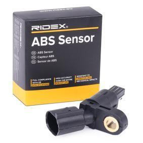 köp RIDEX Sensor, hjulvarvtal 412W0004 när du vill