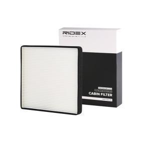compre RIDEX Filtro, ar do habitáculo 424I0158 a qualquer hora