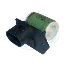 buy ERA Pre-resistor, electro motor radiator fan 665010 at any time