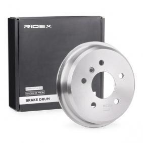 compre RIDEX Tambor de travão 123B0065 a qualquer hora
