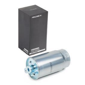 palivovy filtr 9F0045 s vynikajícím poměrem mezi cenou a RIDEX kvalitou