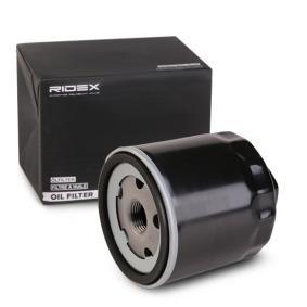 Filtro olio RIDEX 7O0016 comprare e sostituisci