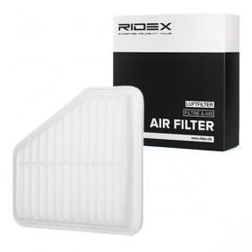 Koop en vervang Luchtfilter RIDEX 8A0523