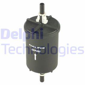 palivovy filtr EFP202 DELPHI Zabezpečená platba – jenom nové autodíly