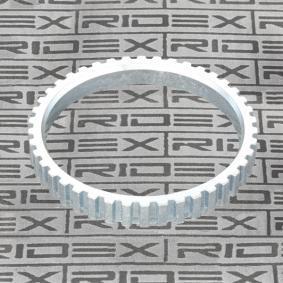 Αγοράστε RIDEX Δακτύλιος αισθητήρα, ABS 2254S0013 οποιαδήποτε στιγμή