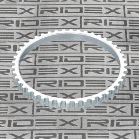 Αγοράστε RIDEX Δακτύλιος αισθητήρα, ABS 2254S0015 οποιαδήποτε στιγμή