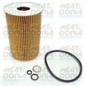 Filtre à huile 14015 à un rapport qualité-prix MEAT & DORIA exceptionnel