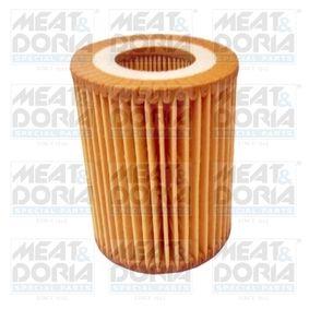 Pērc un aizvieto Eļļas filtrs MEAT & DORIA 14140