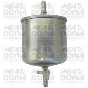 palivovy filtr 4065 MEAT & DORIA Zabezpečená platba – jenom nové autodíly