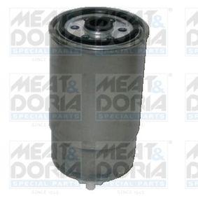 Filtro carburante MEAT & DORIA 4706 comprare e sostituisci