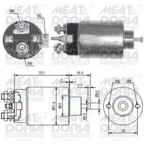 MEAT & DORIA Elettromagnete, Motore d'avviamento 46141 acquista online 24/7
