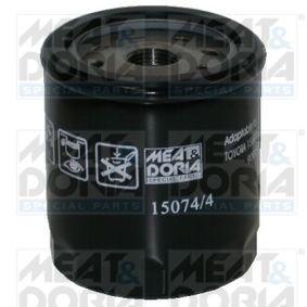 Pērc un aizvieto Eļļas filtrs MEAT & DORIA 15074/4