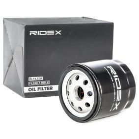 Filtre à huile 7O0136 à un rapport qualité-prix RIDEX exceptionnel