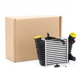 RIDEX интеркулер (охладител за въздуха на турбината) 468I0018 купете онлайн денонощно