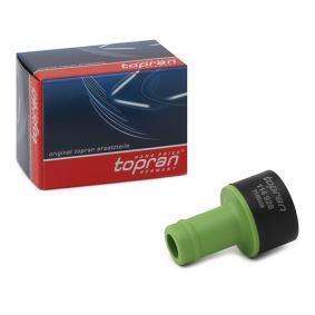 TOPRAN Válvula, regulación del aire de admisión 114 928 24 horas al día comprar online