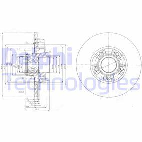 Disque de frein BG9031RSC pour RENAULT TRAFIC à prix réduit — achetez maintenant!