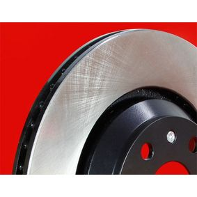 Brake Disc 6110181 METZGER Secure payment — only new parts