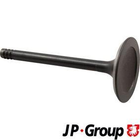 acheter JP GROUP Soupape d'admission 1111303500 à tout moment