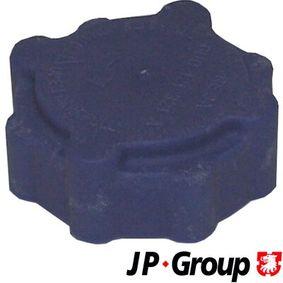 kúpte si JP GROUP Uzatvárací kryt, nádobka chladiacej kvapaliny 1114800800 kedykoľvek