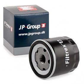 Filtro olio JP GROUP 1118500900 comprare e sostituisci