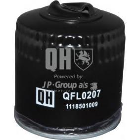 Filtre à huile 1118501009 JP GROUP Paiement sécurisé — seulement des pièces neuves