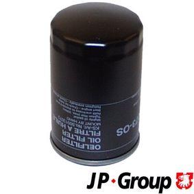 Filtro de óleo 1118501300 com uma excecional JP GROUP relação preço-desempenho