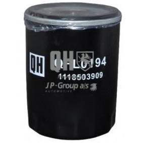 Compre e substitua Filtro de óleo JP GROUP 1118503909