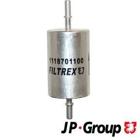 Filtro carburante JP GROUP 1118701100 comprare e sostituisci