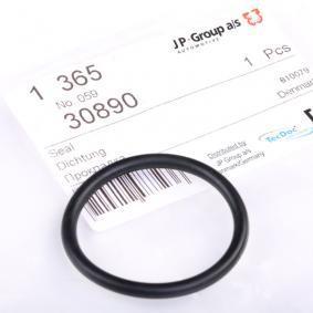 compre JP GROUP Junta, flange do líquido de refrigeração 1119606300 a qualquer hora
