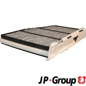 филтър, въздух за вътрешно пространство 1128102200 за VW TOURAN на ниска цена — купете сега!