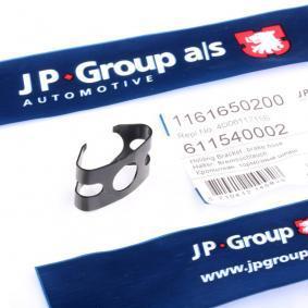 Original JP GROUP Hållare, bromsledning 1161650200 beställa högsta kvalitet