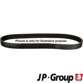 Bremsscheibe von JP GROUP - Artikelnummer: 1163200500