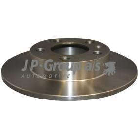 Bremsscheiben 1163200500 JP GROUP Sichere Zahlung - Nur Neuteile