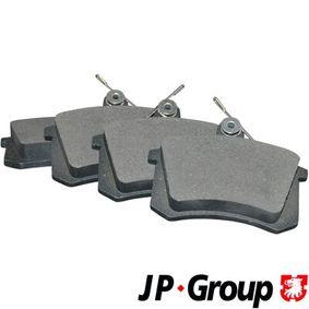 Compre e substitua Jogo de pastilhas para travão de disco JP GROUP 1163705810