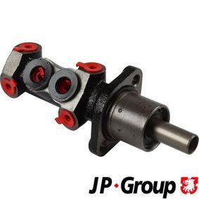Jogo de pastilhas para travão de disco 1163706010 com uma excecional JP GROUP relação preço-desempenho
