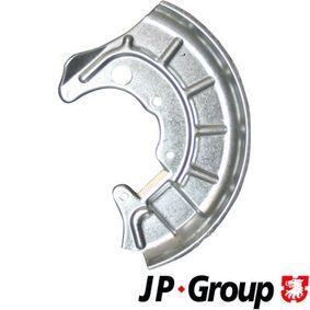 koop JP GROUP Dekplaat, remschijf 1164200280 op elk moment