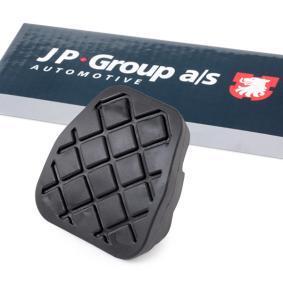 Αγοράστε JP GROUP Επίστρωση πεντάλ, πεντάλ φρένων 1172200400 οποιαδήποτε στιγμή