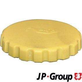 JP GROUP Pokrywa, wlew olejowy 1213600400 kupować online całodobowo
