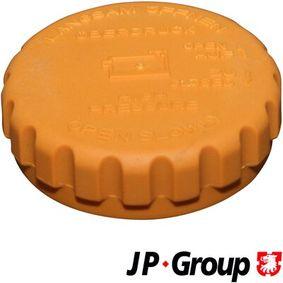 Αγοράστε JP GROUP Τάπα κλεισίματος, δοχείο ψυκτικού υγρού 1214800100 οποιαδήποτε στιγμή